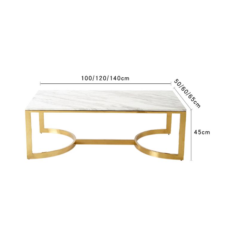 โต๊ะกลางหินอ่อน