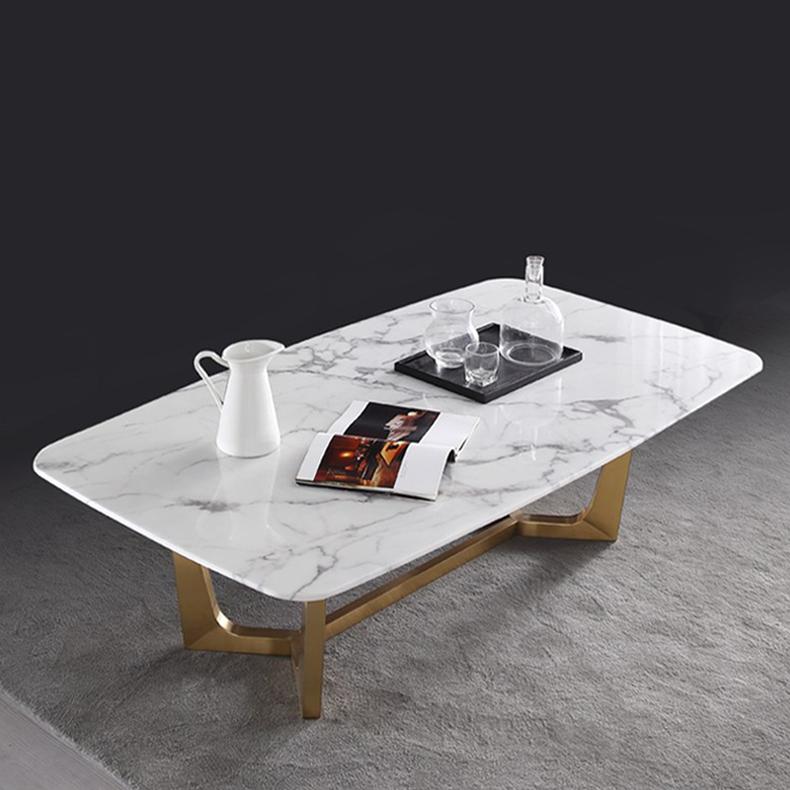 โต๊ะกลางโซฟาหินอ่อน