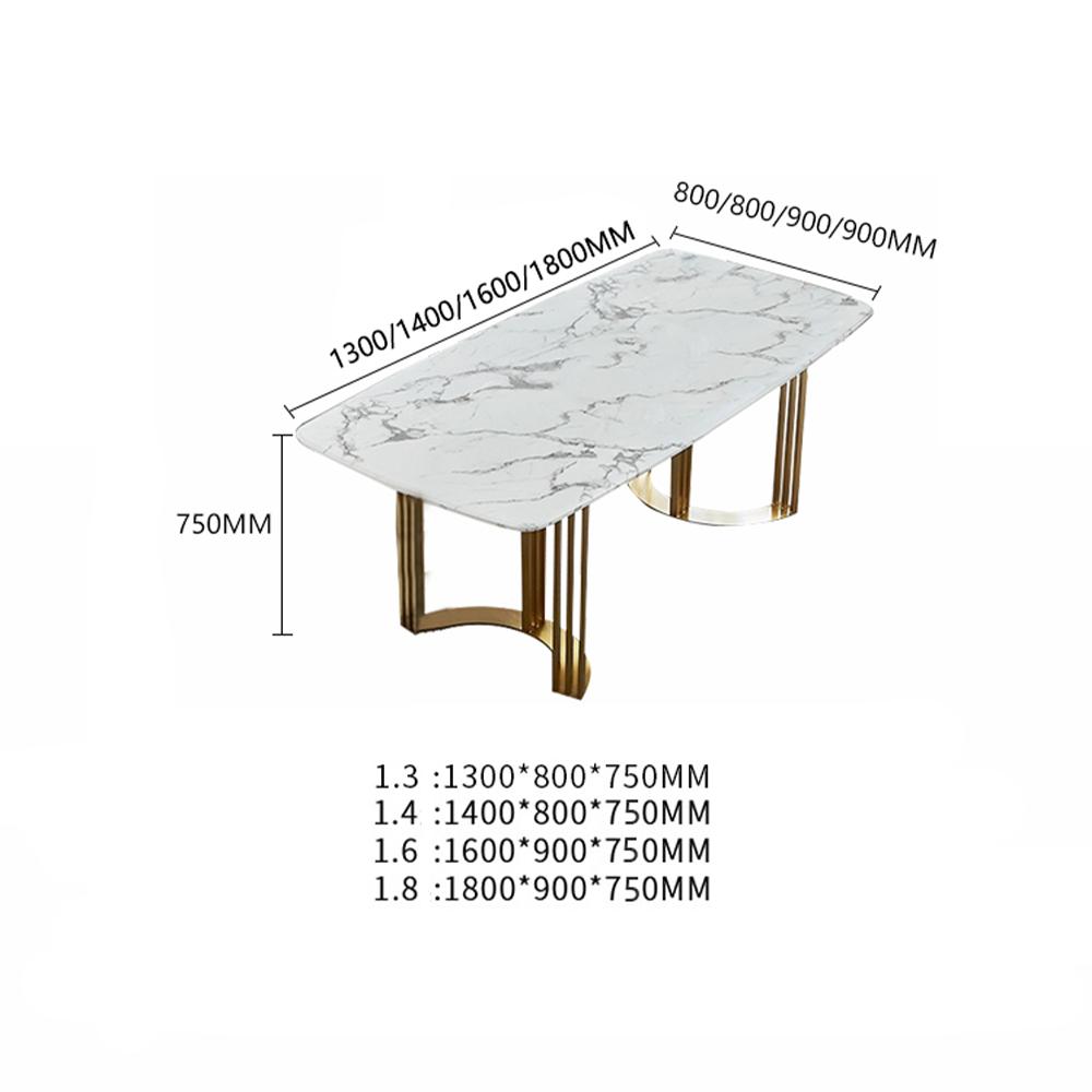 โต๊ะกินข้าวหินอ่อน