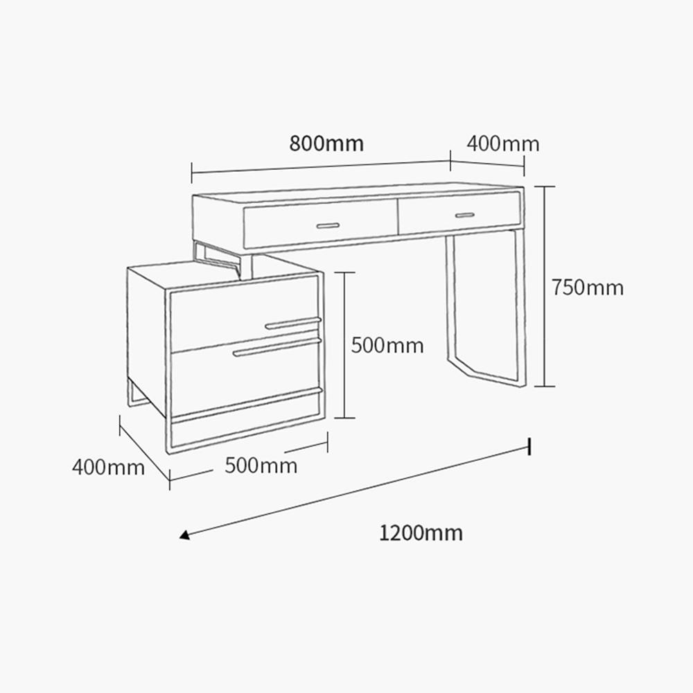 โต๊ะเครื่องแป้ง luxury